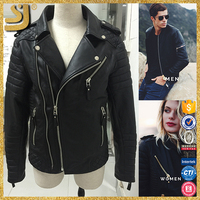 Manufacturer price custom men women motorcycle pu leather jacket