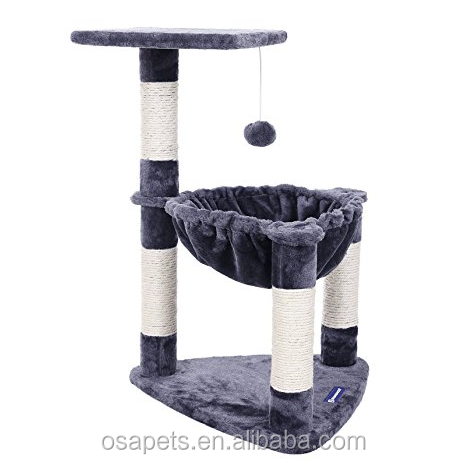 Best Selling Solid Wood Craft Custom Cat Tree House,Cat Tree