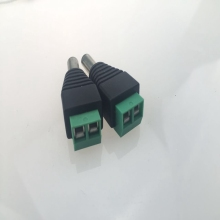 Male female 12v DC Power Jack Connector Plug for CCTV Camera