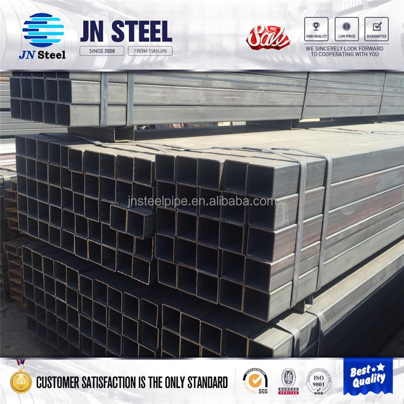 steel frame structure square vinyl tube for cattle sheep fence rail