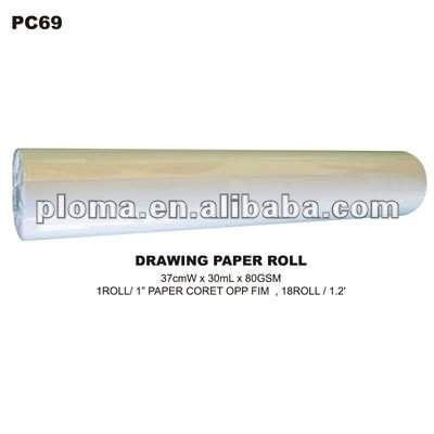 (PC69) DRAWING PAPER ROLL MEMO MESSAGE PAINT