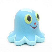 Soft Rubber Octopus Animal Bath Floating Toys/Floating Rubber Fish Bath Toy