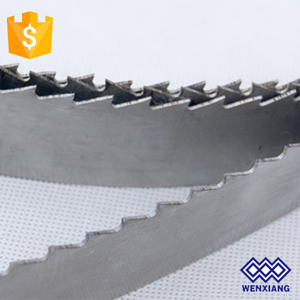 Good cutting results M42 bi-metal stone cutting band saw blades