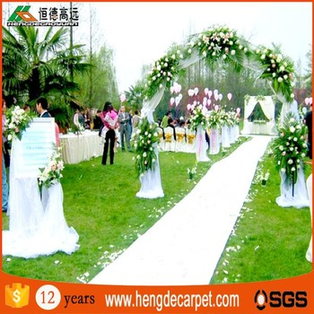 commercial white wedding plain exhibition carpet for modern banquet