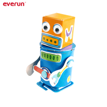 Assembly Toys MYO wind-up toy DIY robot