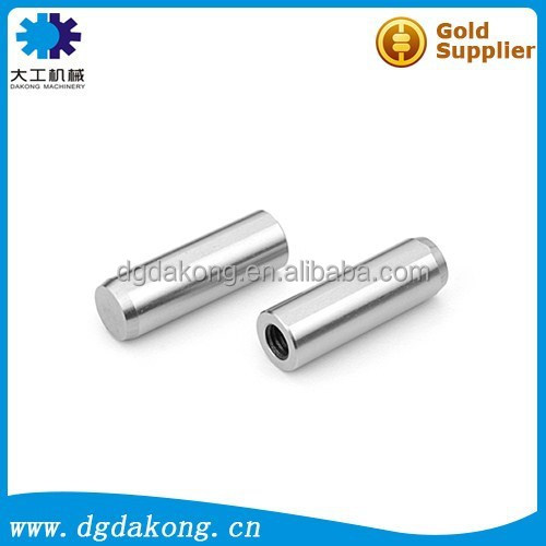 Dakong custom 1U high tolerance precision SKD11 steel material heat treatment 54-57RC computer FA automation locating pin