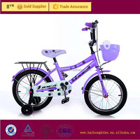 20 Aluminum attractive colorful sport kid bike with side wheels