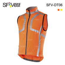wholesale hi vis safety reflective clothing cycling vest jacket motorcycle wear