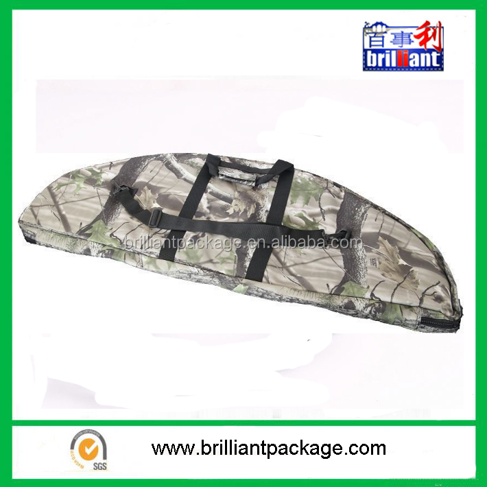 PADDED BOW BAG CAMO FOR COMPOUND BOW W/ ARROW HOLDER ARCHERY