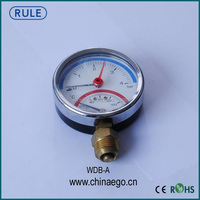 Stainless Steel Temperature Pressure Gauge/Thermometer For Water Heater