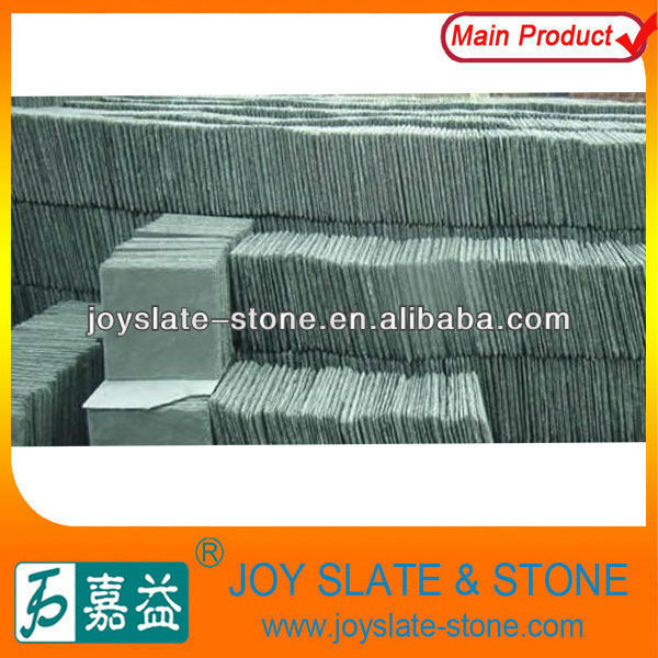 Chinese grass green roof tiles panel,green stone panel