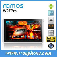 "Ramos W27 pro quad core 10.1"" IPS tablet PC 1GB/16GB ATM7029 ARM Cortex-A9 1.5Ghz WIFI Camera Android 4.1"