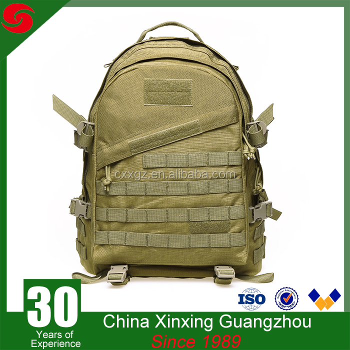 Soft back 600D polyester 600D polyester Outdoor Military molle system tactical gear backpack