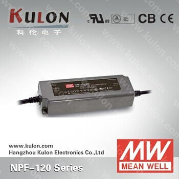 Constant current Meanwell NPF-120 36v waterproof ac/dc led driver
