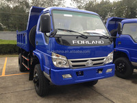 Forland 3t Right Hand Driving Type Dump Truck
