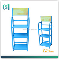 High quality Metal Stationery Store Display Rack for Painting