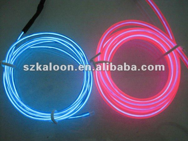 neon wire car decoration