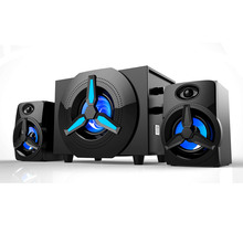 powerful home audio 2.1 multimedia subwoofer speakers USB Stereo Speaker System