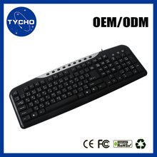 OEM Game Keyboard USB Wired Office Keyboard Desktop Laptop Application Professional Gaming USB Wired Keyboard