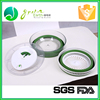 Good Promotional 100% FDA collapsible silicone salad spinner
