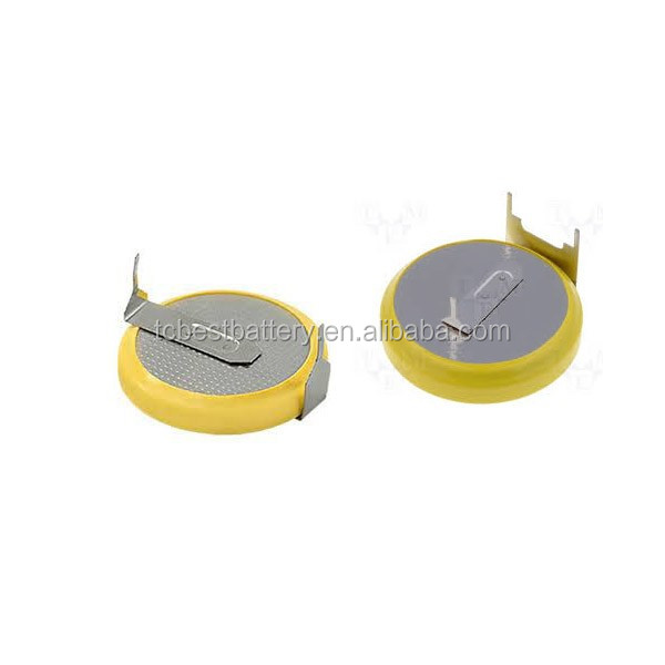 China suppliers rechargeable battery CR2450 3.0V 600mAh, lithium coin battery for a hearing aid/