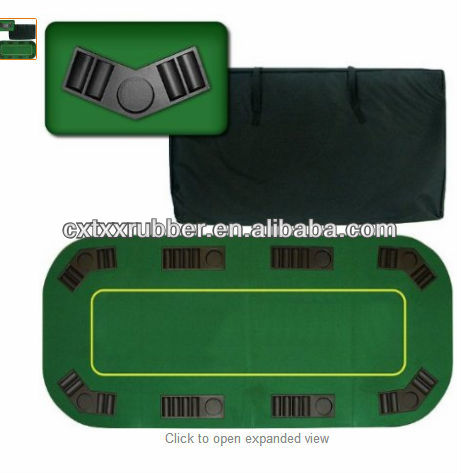 natural rubber casino texas holdem poker table top
