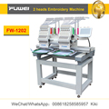 Fuwei computerized 2 heads embroidery machine whth tajima embroidery machines sales