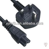 UK Power Cable With BS Plug