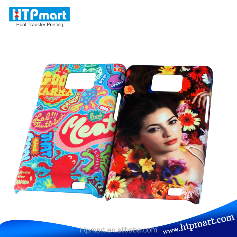Hot sublimation Polymer Phone Case for Samsung Galaxy S2 i9100 of Fast Delivery