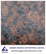 Low price rajasthan Carmen red granite jalore for cemetery vases