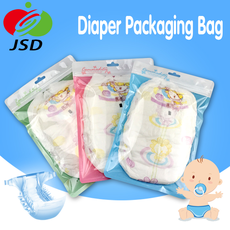 Best Sale Plastic Packaging Material For Toy Gift Decorations Packaging Diaper