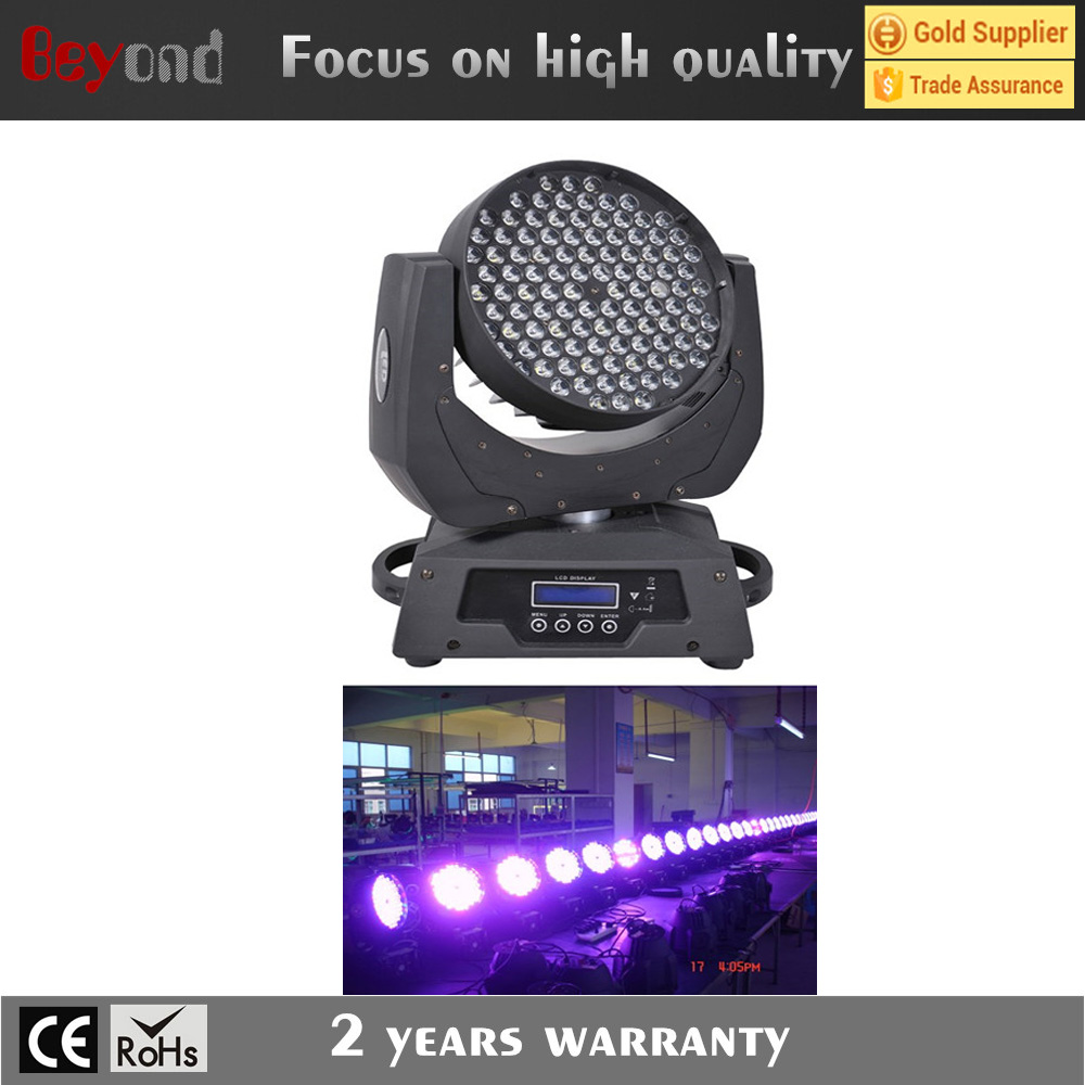 Beyond 108x3w rgbw Led Moving Head Wash Light /led light/stage lighting