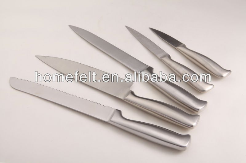 non stick coating kitchen knife set