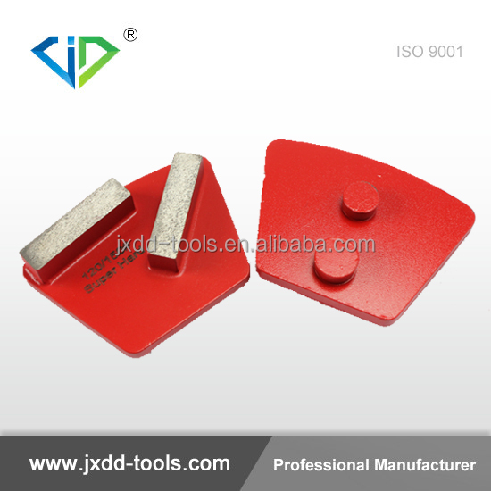 Redi Lock Diamond metal concrete pads- floor polishing grinding disc for grinding/concrete/coating removal