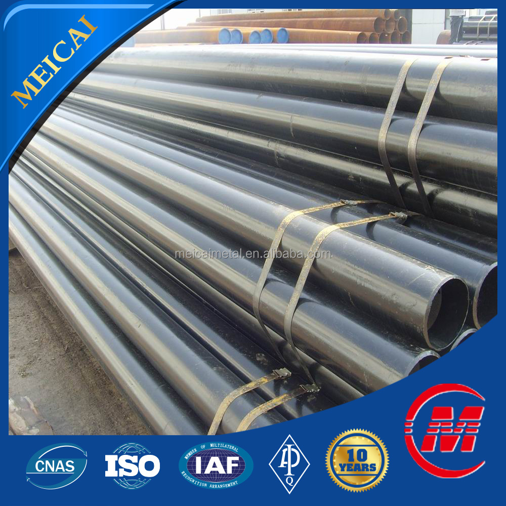 hot rolled seamless mill test certificate steel pipe
