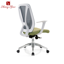 24 hour mesh staff room furniture staff revolving side chair
