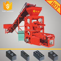 Low price agents` favourite types QTJ4-26 concrete block machine