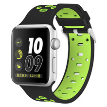 for New apple watch strap,replacement silicone watch strap hot sale in usa