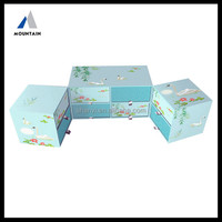 Mountain 2015 New Asian style handmade Jewelry box