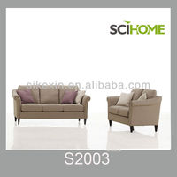 famous brand sofa S2003 classical fabric sofa new model sofa sets