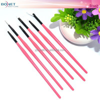 BNT0024 6PCS Beauty High Quality Makeup Brush Set Nail Art