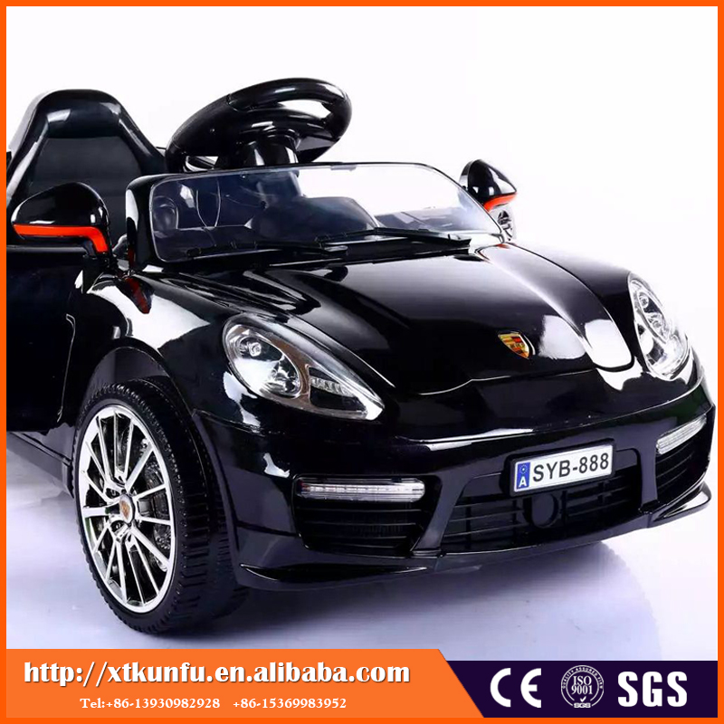 High Quality outdoor licensed One -button start electric car for kids ride on with Decorate LeD light