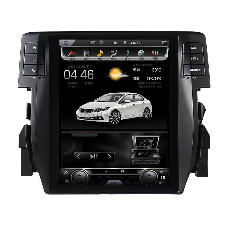10.4 inch Android 4.4 quad-core Car DVD Player GPS Navigation for HONDA CIVIC
