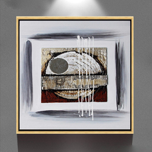 acrylic magnetic photo frame wall art no diy no 3d abstract canvas oil painting