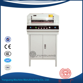 YG-450V+ Electric paper cutter automatic Paper Cutting machine