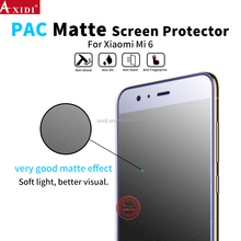 High Standard Matte Film Anti Scratches Shield Scrash Touch Sensitive PAC Screen Protector For Xiaomo Mi 6