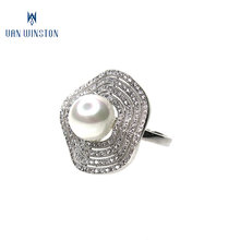 Fashion costume jewellery hot sale women new model wedding ring