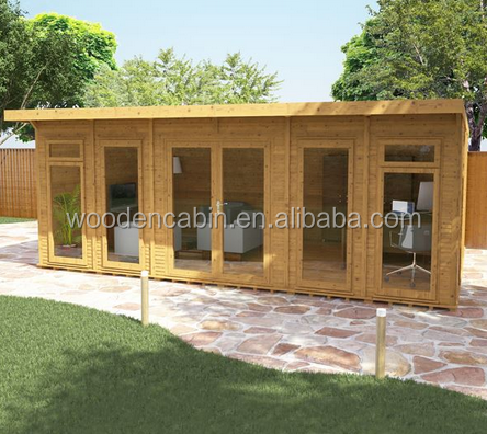 French standard Prefab wood Tiny Mobile Houses
