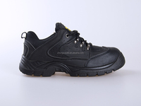High Quality Wholesale Price Men Coal Mining Footwear, Black Steel Safety Boots, Brand Industrial Safety Shoes with CE