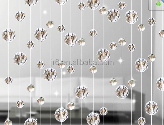 Cortinas con gota de cristal para el hogar y decoraci n de for Decoracion hogar al por mayor